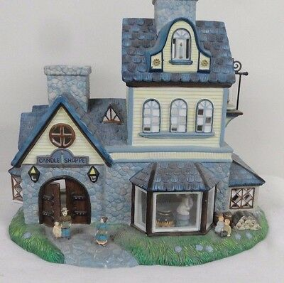 Party Lite Candle Shoppe Tealight House P7315 Old World Village No. 1