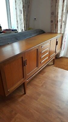 Vintage Retro G Plan Fresco Long John 7Ft Teak Sideboard ~ Mid Century