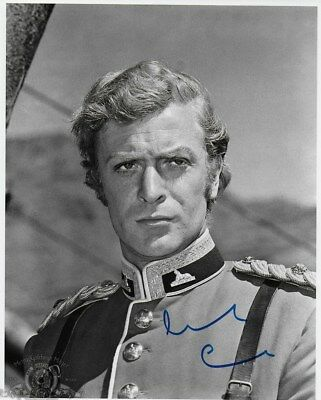 ZULU personally signed 10x8 - MICHAEL CAINE as Lt. Gonville Bromhead