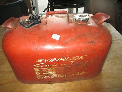 Vintage Evinrude Gas Can 6 Gallons