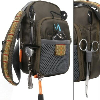 Spiderwire sling fishing pack picclick for Spiderwire sling fishing backpack