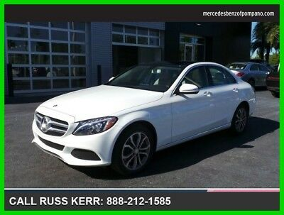 2015 Mercedes-Benz C-Class C 300 2015 C 300 Used Turbo 2L I4 16V Automatic All Wheel Drive Sedan Premium