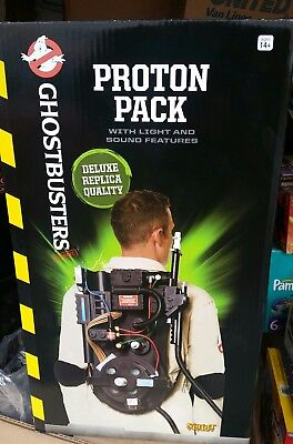 Ghostbusters Proton Pack w/ L&S Deluxe replica Spirit Halloween exclusi S/O NRFB