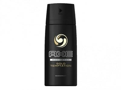 Axe Deospray Gold Temptation NEW 150ml