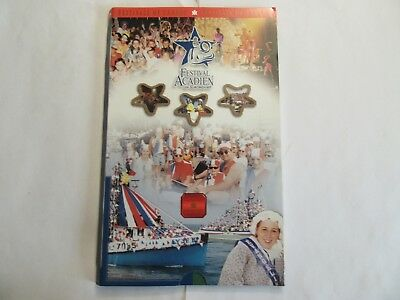 2003 Canada Sterling Silver Proof 50 cent, Festival Acadien