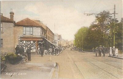 Erith High Street, Before the Odeon Cinema. Well Animated