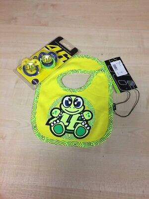 OFFER .  Official Valentino Rossi Baby Sets.  Bib + Dummies