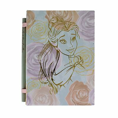 Disney Beauty & The Beast Belle Notebook 200 Lined Page Diary Notepad