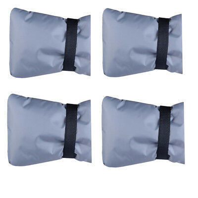 4pcs Spigot Faucet Pipe Covers Waterproof Insulated Pouch for Faucet Gray