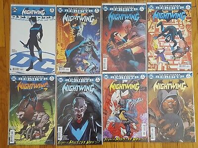 Nightwing Rebirth 1-7, 1st printings GREAT CONDITION!