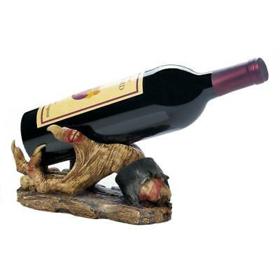 scary dead human hand zombie counter Wine bottle holder man cave bar statue
