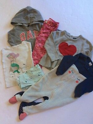 Baby Gap~ Mixed lot~ Girl~ Outfit~ Sleepwear~ Sweater 12-18 months