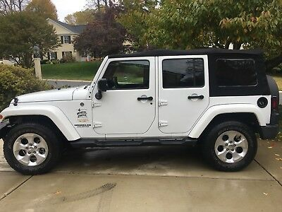 2015 Jeep Wrangler Dual Top 2015 Jeep Wrangler Unlimited Sahara Sport Utility 4D