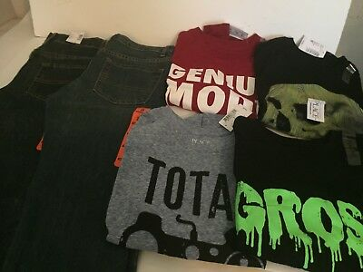 6 Piece Lot Of Boys  Clothes Size 8 7/8  New With Tags The Children's Place