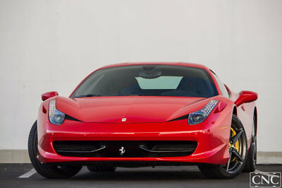 2012 Ferrari 458 Coupe 2012 Ferrari 458 Italia Coupe Rosso Corsa Red / Loaded with Carbon / Race Seats