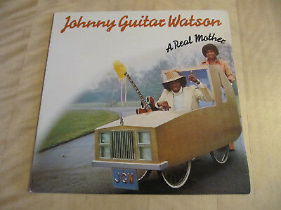 Johnny Guitar Watson, A Real Mother, UK, Top Zustand!!!