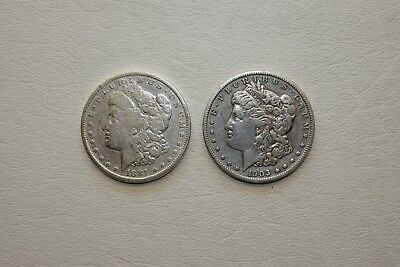 Lot Of 2 Morgan Silver Dollars 1881 1903 Lot 061
