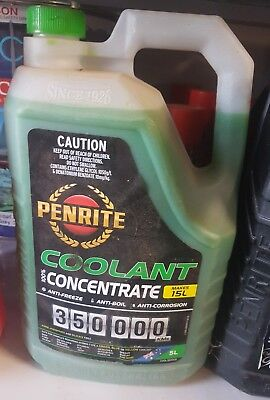 Penrite 7Yr Green Coolant Concentrate - 5Ltr
