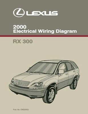 2000 lexus rx 300 wiring diagrams schematics layout factory oem