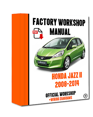Official workshop manual service repair for honda jazz 2007 2014 official workshop manual service repair honda jazz 2008 2014 swarovskicordoba Choice Image