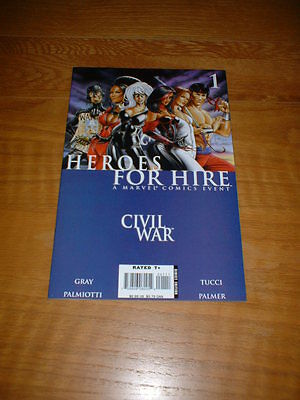 Heroes For Hire 1. Nm Cond. Oct 2006. Gray / Palmiotti          **4