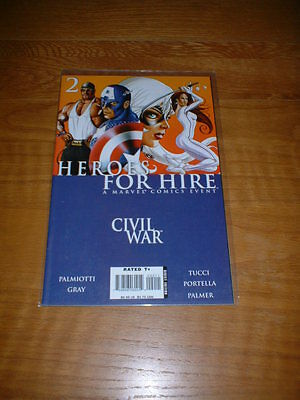 Heroes For Hire 2. Nm Cond. Nov 2006. Gray / Palmiotti          **4