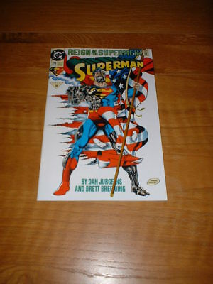 Superman 79. Nm Cond. July 1993. Reign Of The Supermen