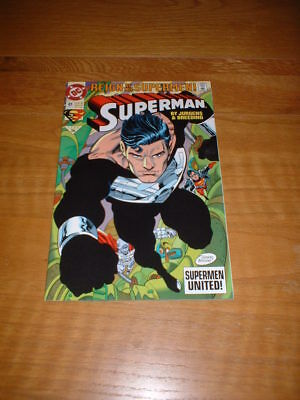 Superman 81. Nm Cond. Sept 1993. Reign Of The Supermen