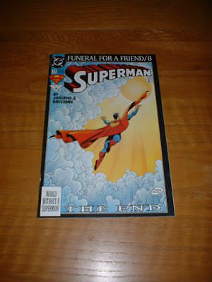Superman 77. Fn Cond. Mar 1993. Funeral For A Friend Part 8