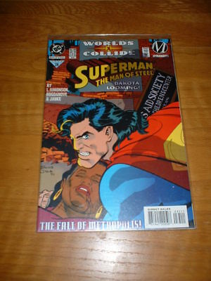 Superman The Man Of Steel 35. Nm, Cond. July 1994. Worlds Collide Part 1