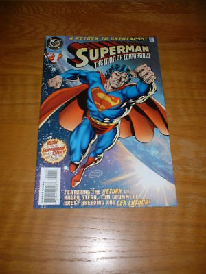 Superman The Man Of Tomorrow 1. Nm Cond. 1995. Dc Comics
