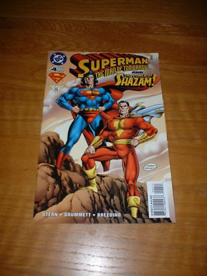 Superman The Man Of Tomorrow 4. Nm Cond. 1996. Dc Comics