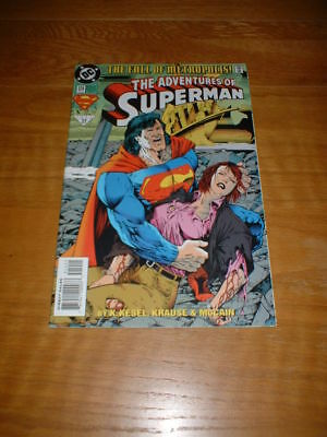 Adventures Of Superman 514. Nm Cond. July 1994. Dc Comics.