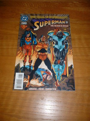 Superman 107. Nm Cond. Dec 1995. The Trial Of Superman                       **2