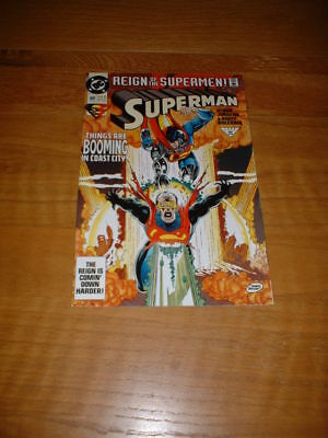 Superman 80. Nm Cond. Aug 1993. Reign Of The Supermen