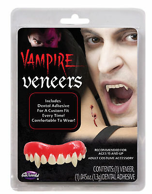 Vampire Fangs False Teeth Dental Veneer Horror Costume Makeup Accessory