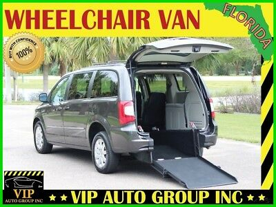 2015 Chrysler Town & Country Touring 2015 Touring Handicap Wheelchair Van Mobility Rear Entry Ramp