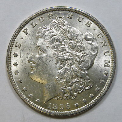 1896-P Morgan Silver Dollar