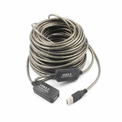 5M to 20M USB Active Repeater Cable Extension Lead Computer Socket Extender G