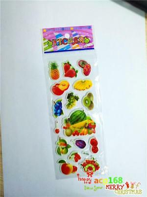 Cartoon Stickers Doll Craft Xmas 1pc Alive Fruit & Vegetable Kid Party Toy Gifts
