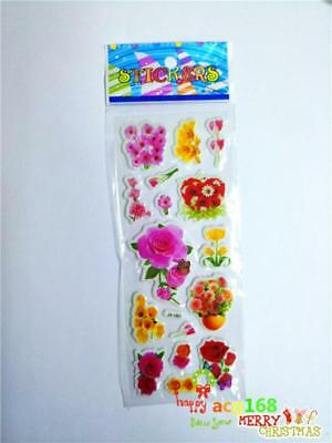 Alive Cartoon Stickers Doll Crafts Xmas Flowers Wedding Wall 1pc Kid Party Gifts