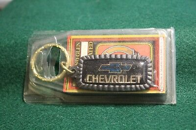 Highland Glen Manufacturing Incorporated Chevrolet chevy key chain oblong USA NY