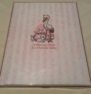 Stephan Baby A Memory Book For A Special Baby Girl Pink New Stork