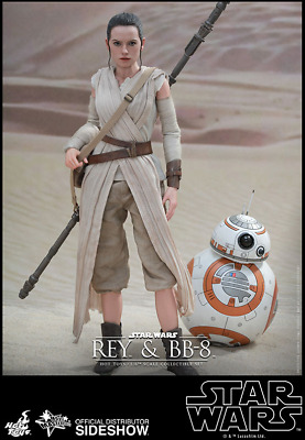 Hot Toys Star Wars Rey + Bb-8 / Sixth Scale