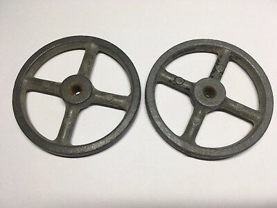 Two Old Cast Metal WHEELS!
