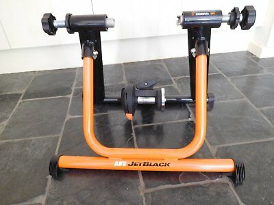 Jet Black Pure Cycling Mag 2 Magnetic Bike Trainer No Reserve Auction!