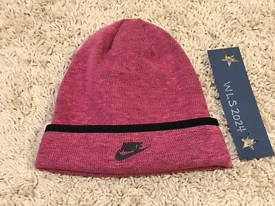 Nike Tech Fleece Beanie - Vvd Pink Hthr/Blk - Little Girls 4-6X #3A2654-A3D