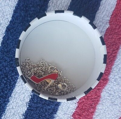 Thomas Sabo Sterling Silver 925 Necklace With Red Heel Charm New