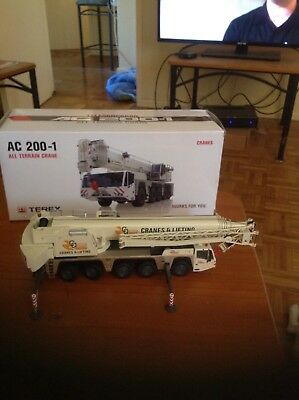 There's AAC All Terrain Crane 1:50 Scale By NZG