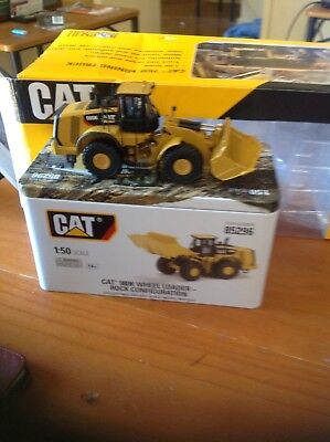 Caterpillar 1:50 Scale Diecast Cat 980K Wheeled Loader